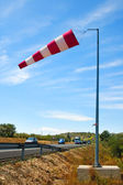 Red Windsock — Stock Photo