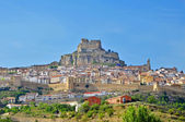Panoramic view of Morella, Spain — Stock Photo