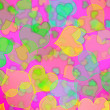 Hearts background - Stockfoto
