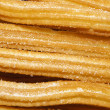 Churros, typical Spanish sweet — Stock Photo