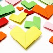 Royalty-Free Stock Photo: Paper hearts