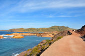 View of Pregondo beach in Menorca, Balearic Islands, Spain — Stock Photo