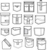 Conjunto de bolsos — Vetorial Stock