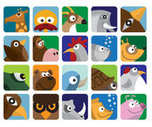 Animals icon collection — Stock Vector