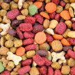 Dry cat food texture — Stock Photo