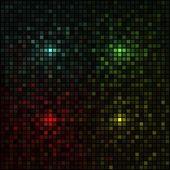 Vector - Multicolored squares — Stock Vector