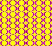 Colorful seventies seamless pattern — Stock Vector