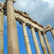 Постер, плакат: Temple of Saturn in Roman Forum