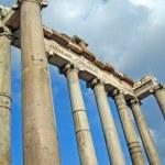Постер, плакат: Temple of Saturn in Roman Forum