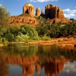 Red Rock Crossing, Oak Creek Canyon, Arizona - Stock Photo