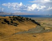 San Luis Reservoir, California — Stock Photo