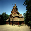 Stock Photo: Stave church, Norway