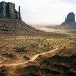 Monument Valley, Mittens, Arizona — Stock Photo