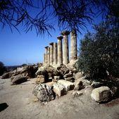 Yunan tapınağı — Stok fotoğraf