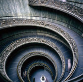 Vatican Museum, Spiral stairs — Stock Photo