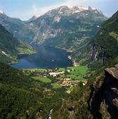Geiranger Fjord, Norway — Stock Photo