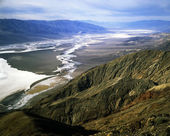 Dante's View, Death Valley, California — Stock Photo