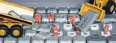 Keyboard factory — Stock Photo