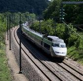 Train travel — Stock Photo