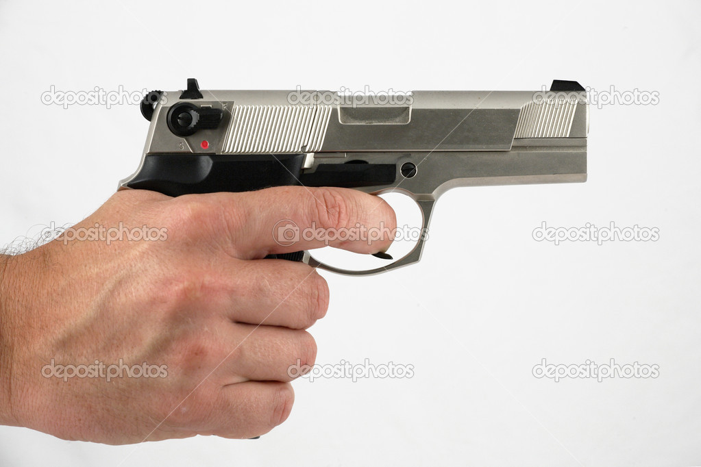 Gun — Stock Photo #3550537