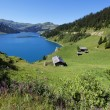 Stock Photo: Blue lake