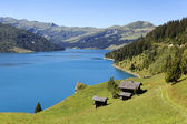 Altitude lake — Stock Photo