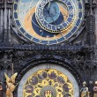 Astrological clock in Prague — Photo