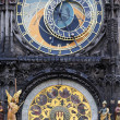 Stock Photo: Astrological clock in Prague