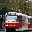 Tram in Prague — Stock Photo #3920627