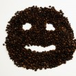 Royalty-Free Stock Photo: Coffee face