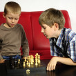 Playing boys — Stock Photo