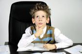 Thinking boy — Stock Photo