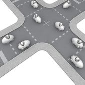Crossroad — Stock Photo