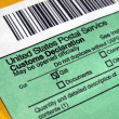 Customs declaration — Stock Photo #3529408