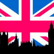 Foto Stock: UK flag
