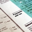 Tax forms - Stok fotoraf