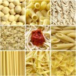 Royalty-Free Stock Photo: Pasta collage