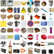 Royalty-Free Stock Photo: Many objects isolated