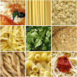 Italian food collage — Stock Photo #3532141