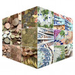 Money collage — Stock Photo #3532178