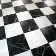 Royalty-Free Stock Photo: Checked floor
