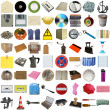 Many objects isolated — Stock Photo #3532521