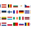 European flags — Stock Photo #3532633