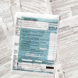 Tax forms — Stock Photo #3532641