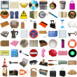 Many objects isolated — Stock Photo