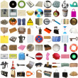 Many objects isolated — Stock Photo #3532945