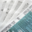 Stock Photo: Tax forms