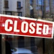 Closed sign - Foto Stock