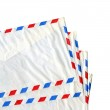 Airmail letter — Stock Photo