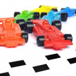 F1 Formula One racing car - Stock Photo